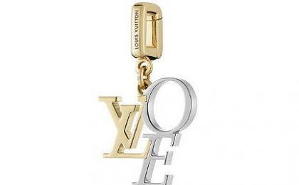 "Louis Vuitton charm ""That's Love"": l'amore dorato"
