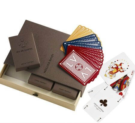 Le carte da gioco Louis Vuitton