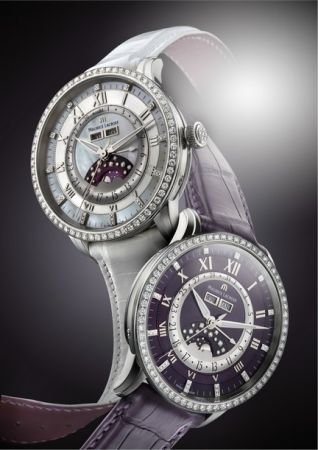Masterpiece Phase de Lune Diamonds, al polso stelle e diamanti