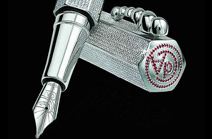 Penne di lusso: La Modernista Exclusive Diamond Pen, stilo da Guinness