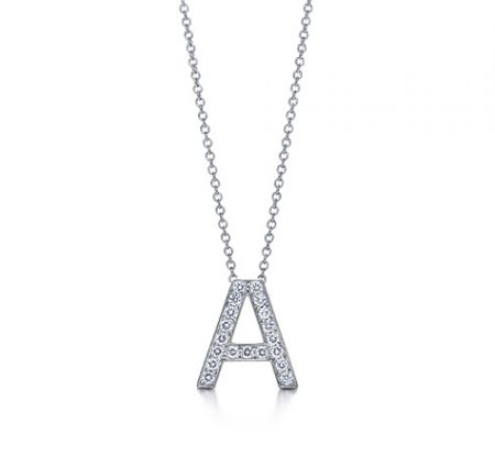 tiffany letters pendant
