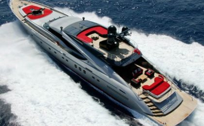 Palmer Johnson 135′ Dragon, motoryacht d'alto design