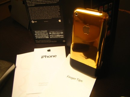 iPhone in oro