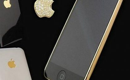 iPhone in oro e diamanti di Goldstriker