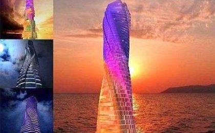 Rotating Tower: a Dubai l'Hotel a 6 stelle che cambia forma