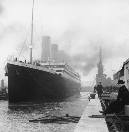 Titanic: all'asta un salvagente