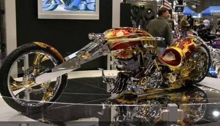 Il Custom Chopper in oro da 500.000 dollari