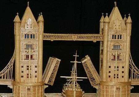 Collezionismo: il modello del London's Tower Bridge di Michael Williams