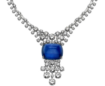 Collana con zaffiro Bulgari High Jewellery