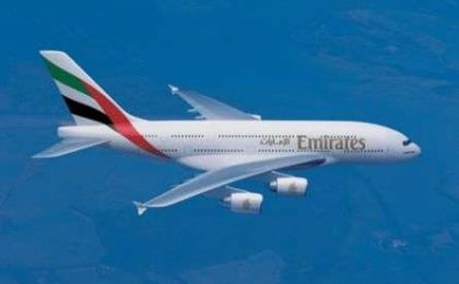 Emirates Airlines A380: un hotel di lusso in cielo