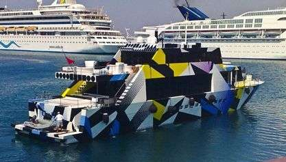 Guilty Yacht: l'imbarcazione designed by Jeff Koons