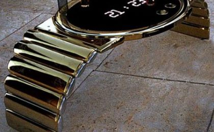 Goldstriker presenta Wristwatch Table, il tavolo in oro