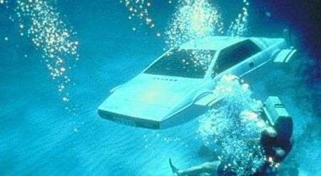 All'asta la Lotus di James Bond