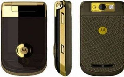 Cartier, Motorola Ming Gold Edition