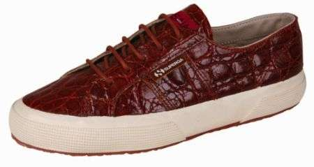 Superga in Coccodrillo by Isaia