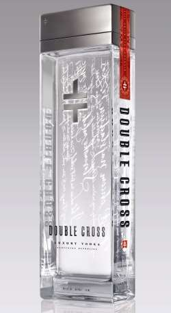 Double Cross, Vodka filtrata con diamanti