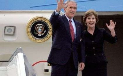 George W  Bush si traferisce a Dallas