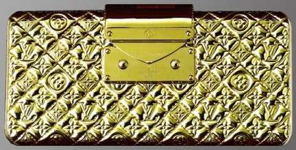 Louis Vuitton, Minaudiere in Gold Edition