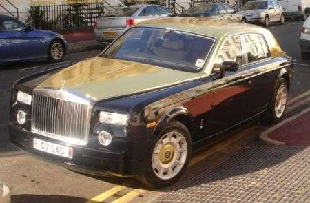 Una Gold Edition della Rolls Royce Phantom