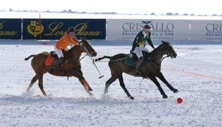 Cristallo Palace Hotel: Winter Polo Audi Gold Cup