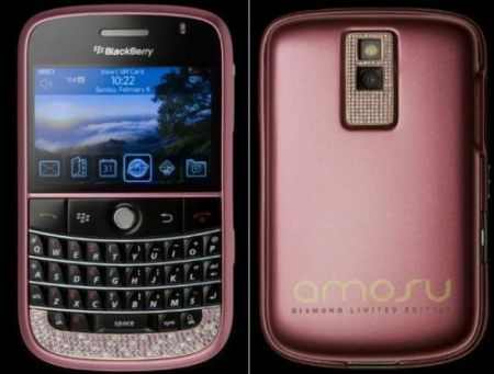 Diamanti, il Blackberry Bold di Amosu