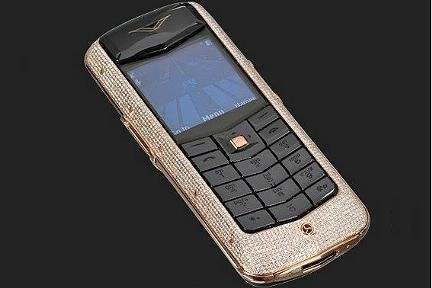 Cellulari lusso, Vertu Constellation Diamond Gold