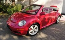 Volkswagen, Malibu Barbie New Beetle Convertible
