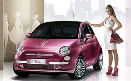 Fiat 500 Barbie special edition