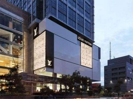 Louis Vuitton: grande store in Indonesia