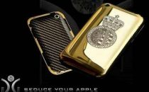 iPhone: case in oro e diamanti