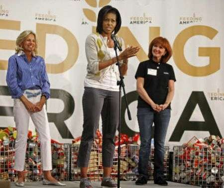 Lanvin:  sneakers lusso per  Michelle Obama