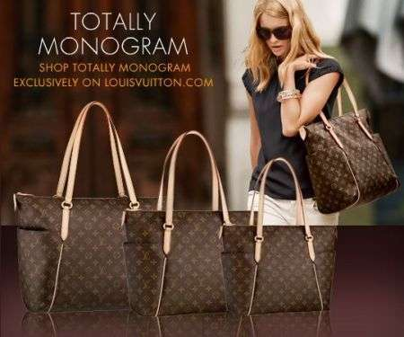 Louis Vuitton lancia online la Totally Monogram