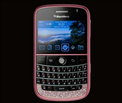 Cellulari: Amosu BlackBerry Pink Diamond Bold