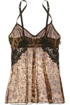 D&G, lingerie di lusso Animal Print