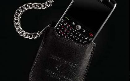 BlackBerry: speciale custodia Dsquared