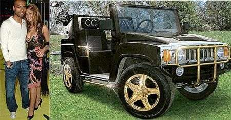 Auto lusso, la Mini Hummer di Ashley Cole