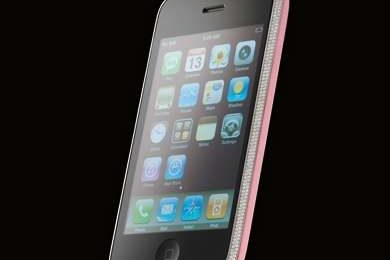 Amosu, iPhone 3G Diamond in versione pink