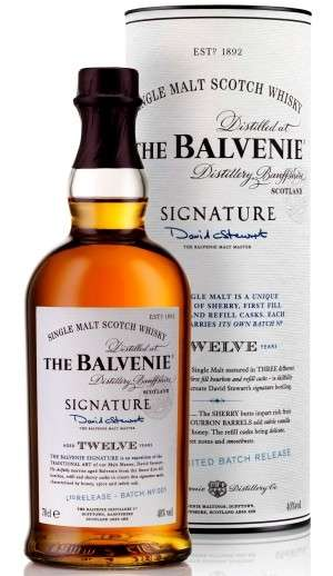 Whisky, The Balvenie in limited edition