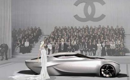Karl Lagerfeld: Chanel Fiole concept car
