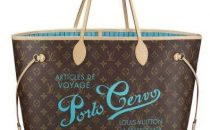 Louis Vuitton: Neverfull Porto Cervo limited