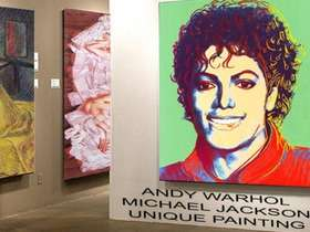Michael Jackson, all'asta il quadro di Andy Warhol