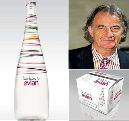 Paul Smith, acqua Evian limited edition