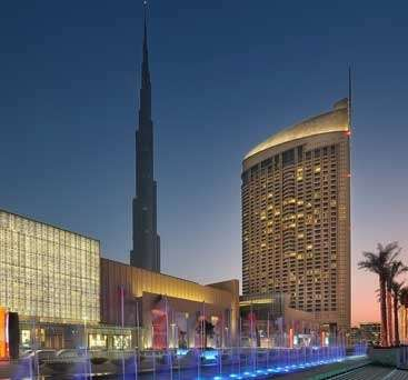 Hotel, inaugurato  The Address Dubai Mall