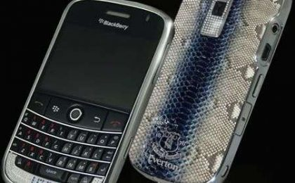 BlackBerry Bold: tre nuove luxury edition