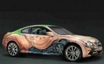Auto, Infiniti G37 Coupé Art Car