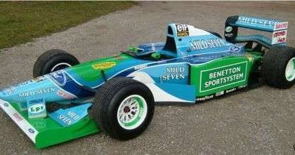 All'asta la Benetton B194 di Schumacher