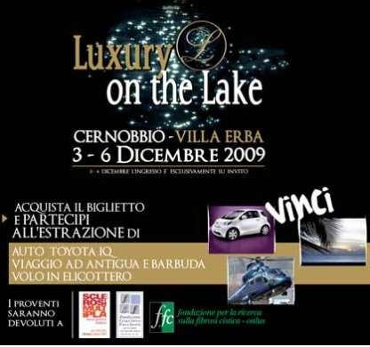 Luxury on the Lake: evento donato alla ricerca