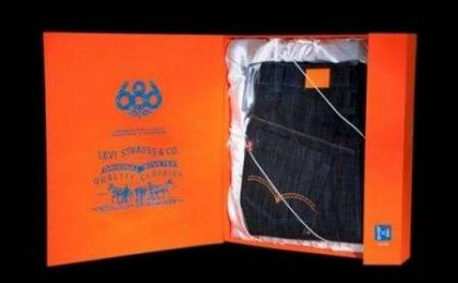Levi's, jeans da neve limited edition
