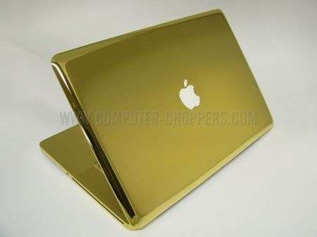 Prodotti Apple in oro by Computer Choppers