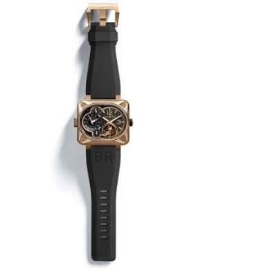 Bell & Ross: BR Minuteur tourbillon Pink gold